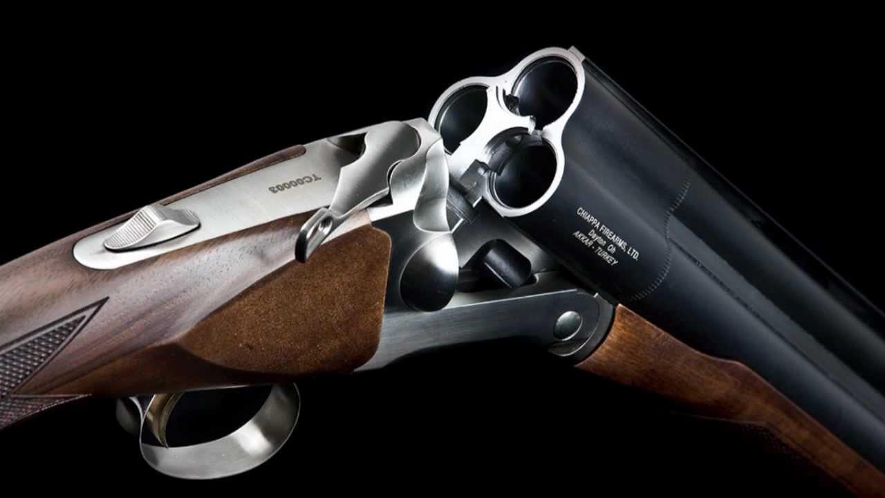 Chiappas triple barrelled shotgun.