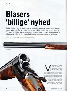 Sådan ender mit arbejde i JAGT Vildt & Våben: Fem sider med tekst og fotos om månedens gevær.