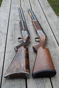 Her de to Brownings med samme stamtavle, men meget forskellig opvækst